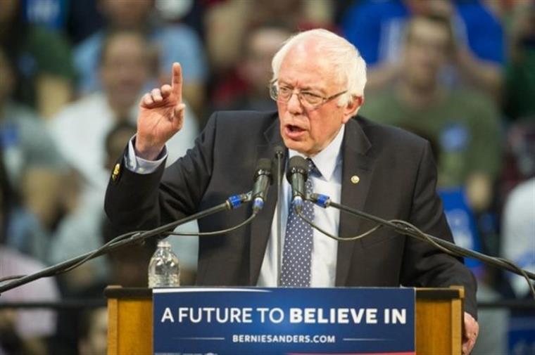 Sanders apresenta plano de 16,7 biliões de dólares para combater alterações climáticas