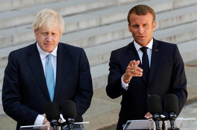 Johnson sonda Merkel e Macron sobre a possibilidade de um novo acordo