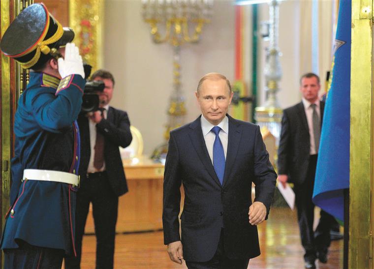 Rússia. O eterno Putin