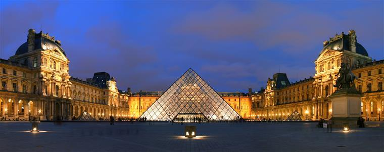 Versão digital do Louvre com mais de 10 milhões de visitas em 71 dias