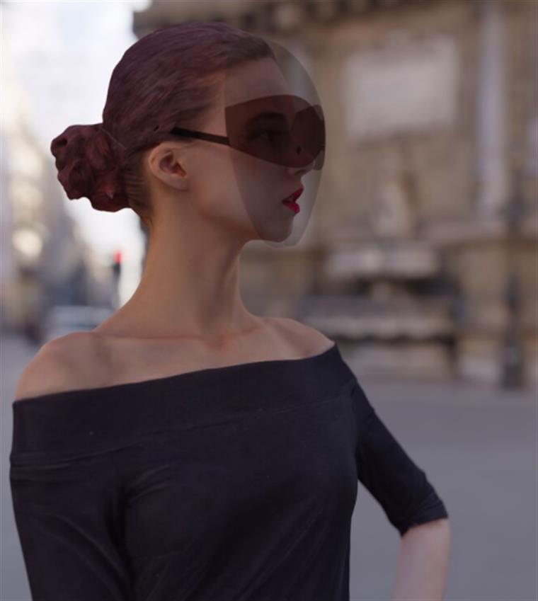 Designer cria óculos de sol para usar durante a pandemia