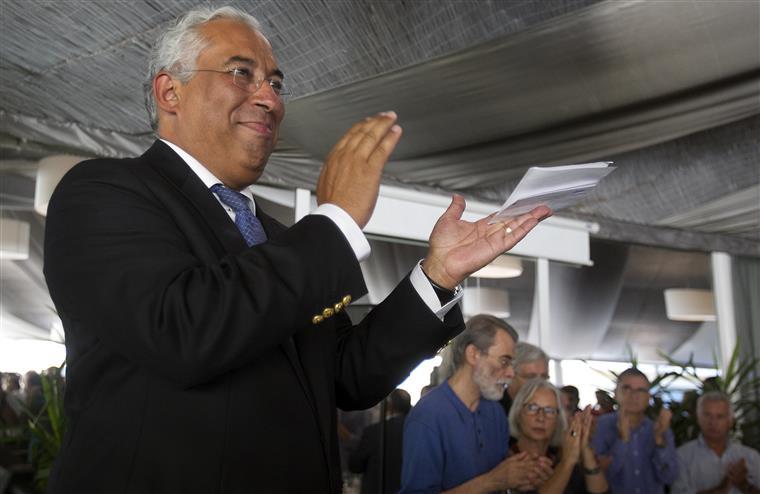 """No apelo aos indecisos António Costa pediu mais uma vez que os socialistas se """"batam por cada voto"""