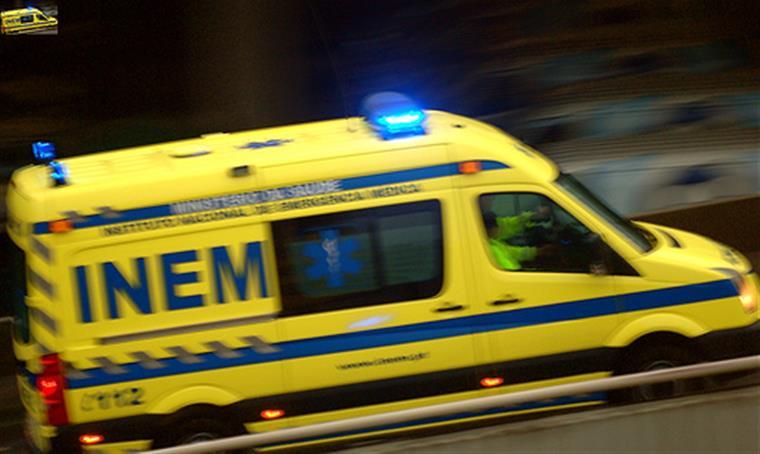 O cadáver foi transportado para o Gabinete Médico-Legal de Aveiro