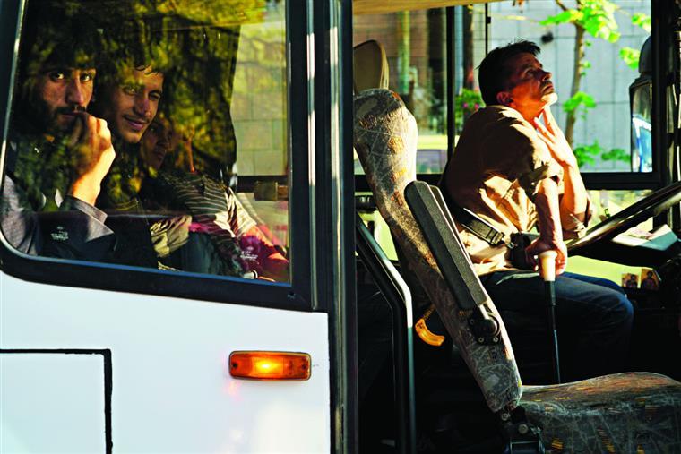 Saem em média 55 autocarros por dia de Belgrado rumo à Croácia