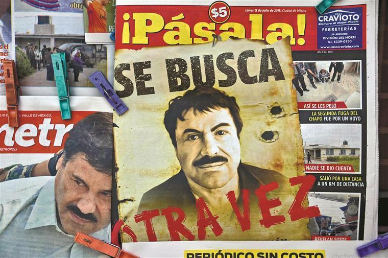 """O operador financeiro do cartel de Sinaloa """"presume-se que foi quem financiou a evasão"""" de """"El Chapo"""""""