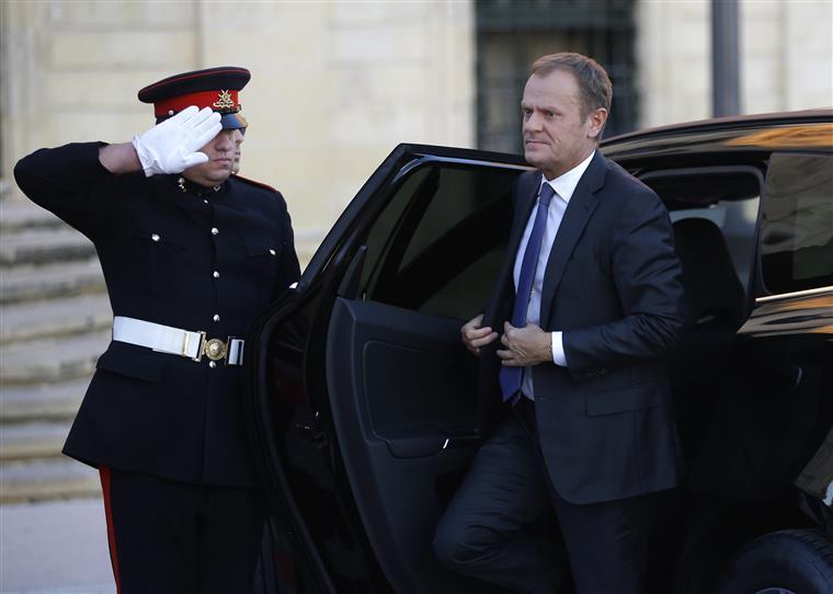 """Sobre as conclusões da cimeira em Malta, Tusk considerou ter sido dado """"um passo crucial"""""""