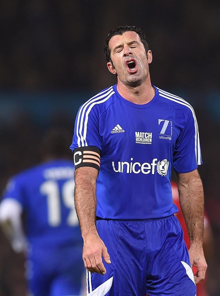 Ex-futebolista capitaneou a selecção do resto do mundo no jogo deste domingo a favor da UNICEF