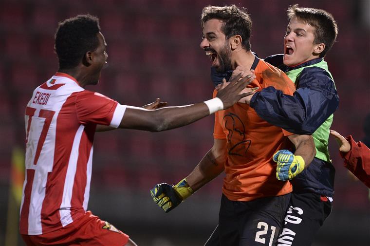 O União da Madeira, I Liga de futebol, foi eliminado este domingo da Taça de Portugal