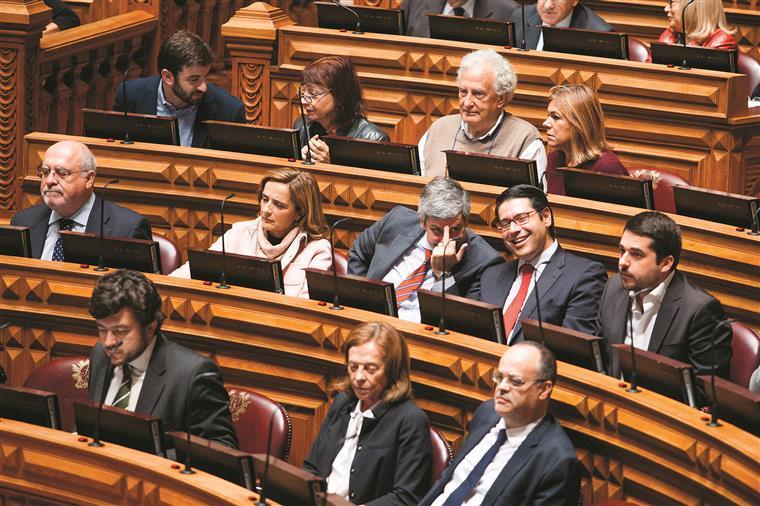 Ricardo Mourinho tem estado sempre perto de Centeno nesta estreia no parlamento