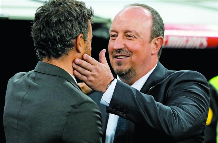 Treinador do Real tem o sorriso blanco mais amarelo do campeonato