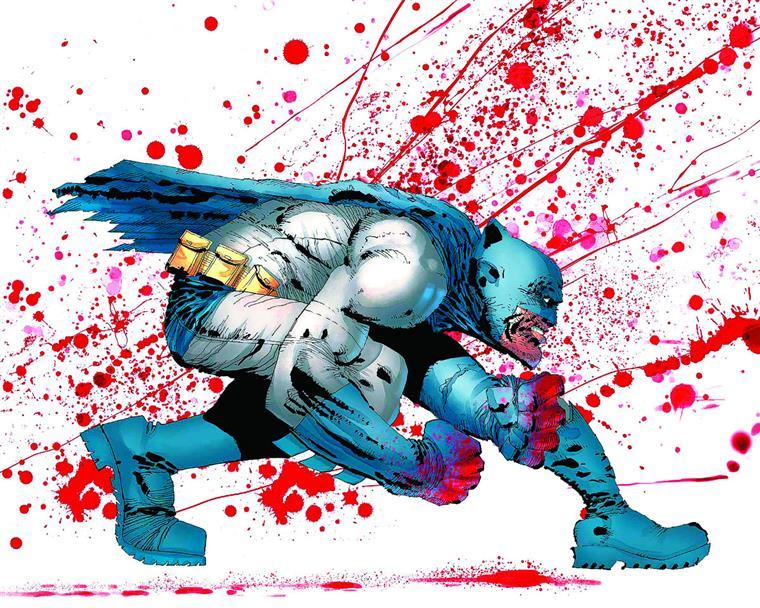 """Esta é uma das imagens que tem circulado como anúncio do que """"Dark KnightIII"""" vai revelar.E até ver está tudo bem"""
