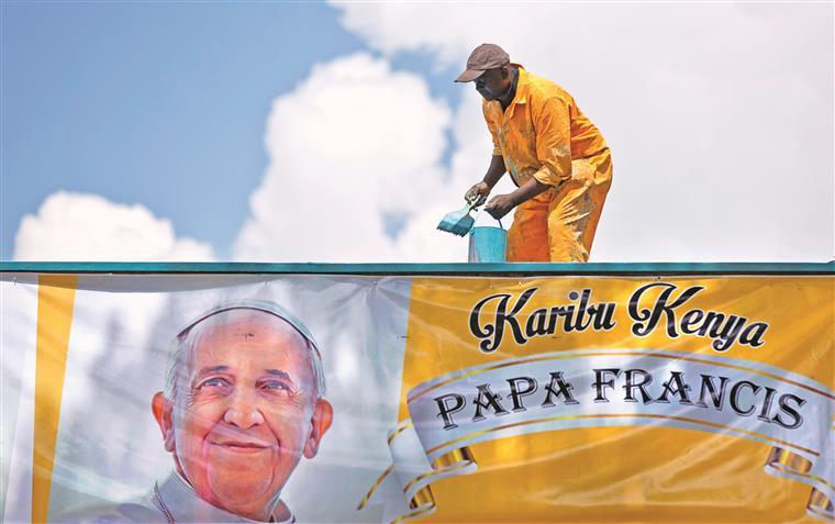 Papa Francisco vai visitar Quénia, Uganda e República Centro-Africana