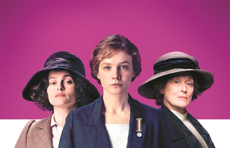 Eis a três por ordem: Helena Bonham Carter, Carey Mulligan e Merryl Streep