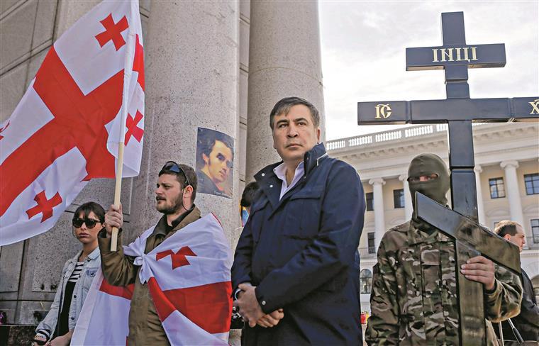 Mikheil Saakashvili deixou a Geórgia e foi para os Estados Unidos em 2013