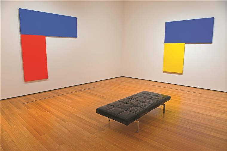 Exposição de Kelly no MOMA, Nova Iorque, em 2013