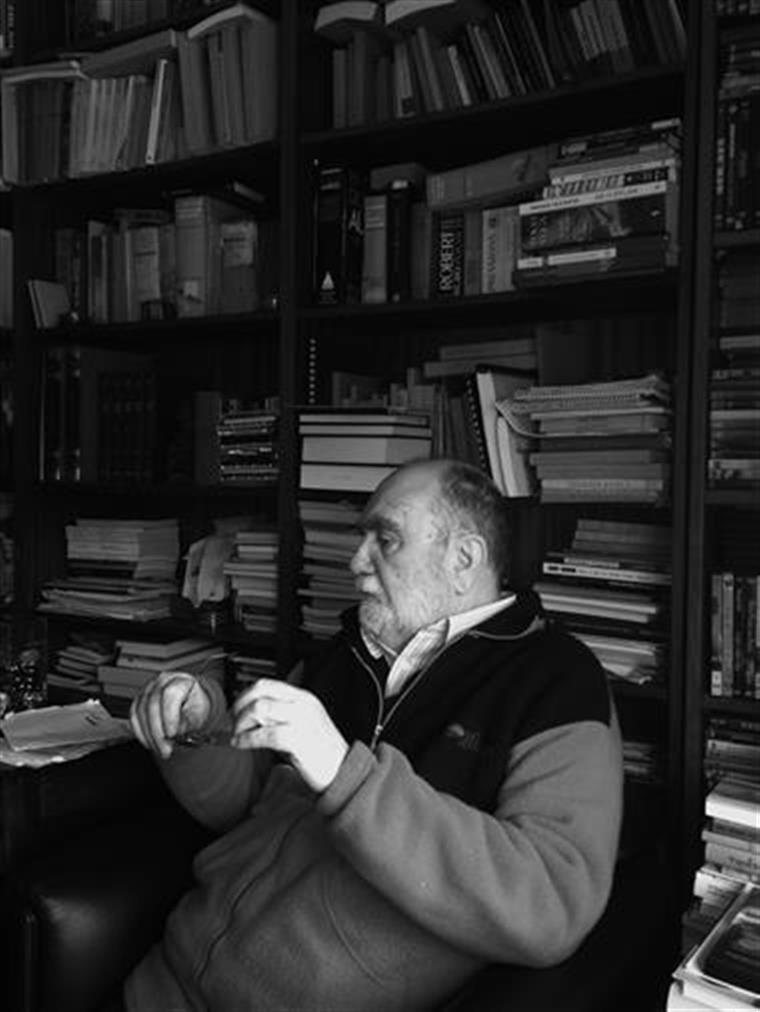 Herberto Helder em sua casa