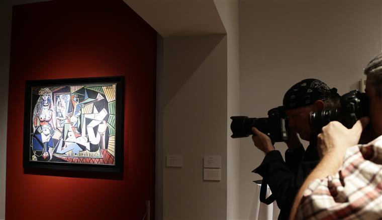 O quadro Les femmes d'Alger que foi a leilão
