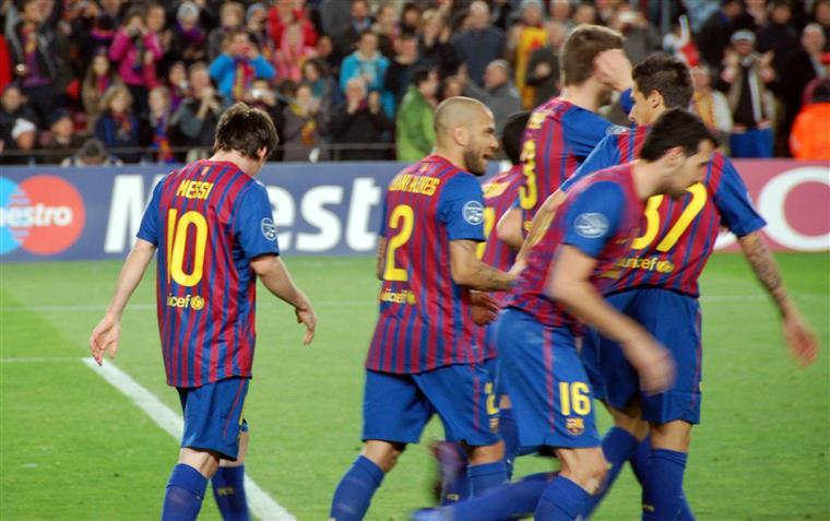 FC Barcelona foi um dos que apoiou a greve