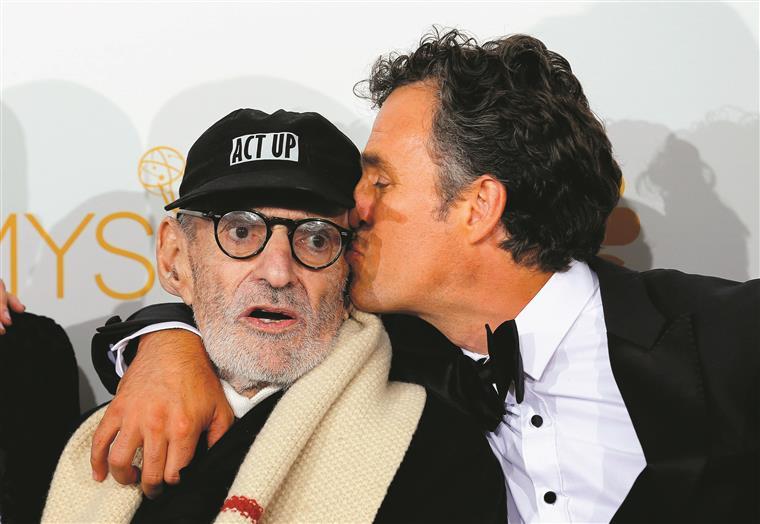 """Em 2014, Kramer foi nomeado para um Emmy por """"The Normal Heart"""""""