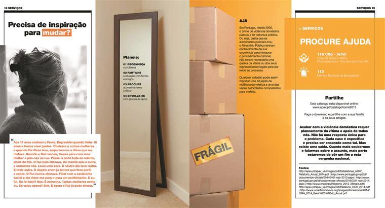 À primeira vista parece um catálogo do IKEA