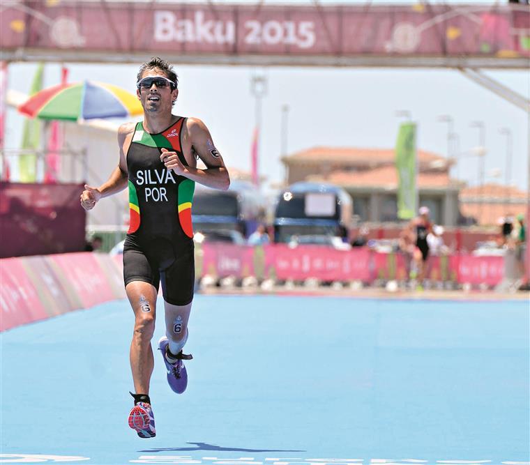 Triatleta foi prata em Baku três anos depois de ter terminado Londres-2012 no nono posto
