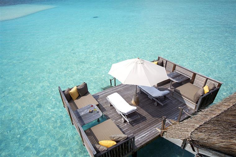 Uma vista de tirar o fôlego do Gili Lankanfushi
