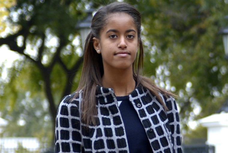 Malia tinha apenas 11 anos quando chegou à Casa Branca