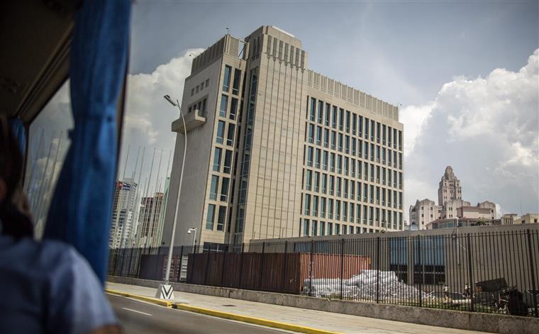 A futura embaixada dos EUA em Havana
