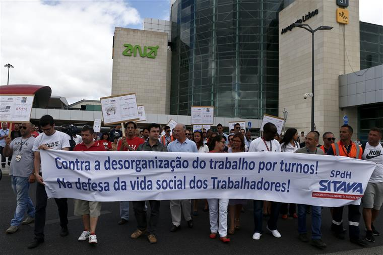 A TAP e a o grupo Urbanos são as empresas que detêm o capital da Groundforce
