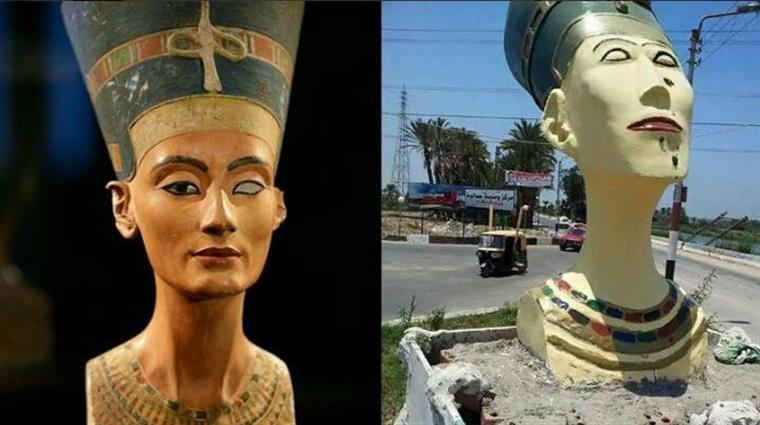 """O nome Nefertiti significa """"uma bela mulher chegou"""""""
