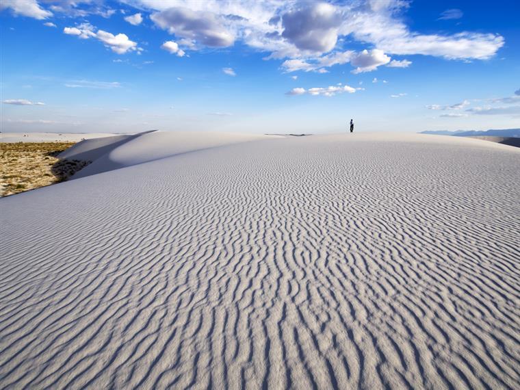 Parque Nacional White Sands no estado do Novo México