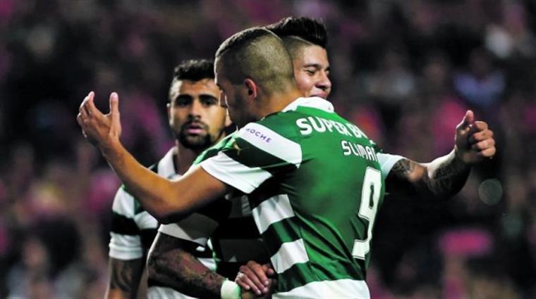 Slimani chegou ao Sporting no início da temporada 2013/2014