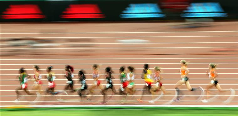 Final dos 10 000 metros femininos