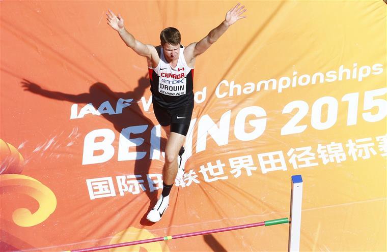 Drouin superou Zhang e Bondarenko no desempate