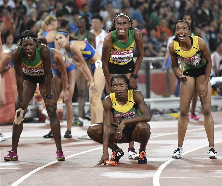 Estafeta dos 4x400 metros femininos deu último título à Jamaica