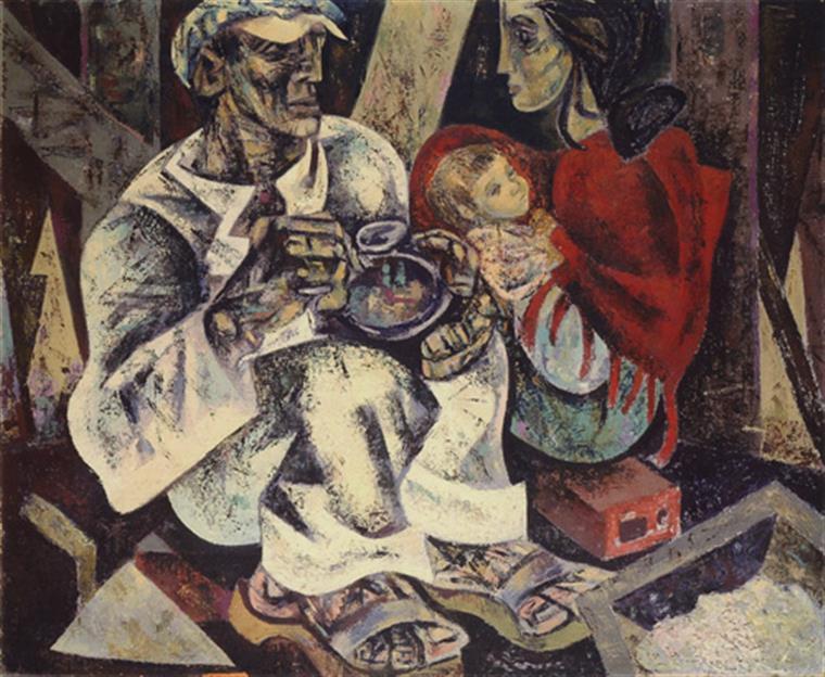 Quadro é apontado como um ícone do movimento neo-realista português