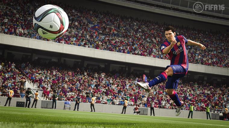 Messi em acção