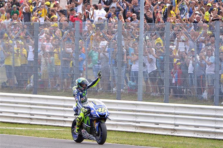 Valentino Rossi teve balanço positivo em San Marino