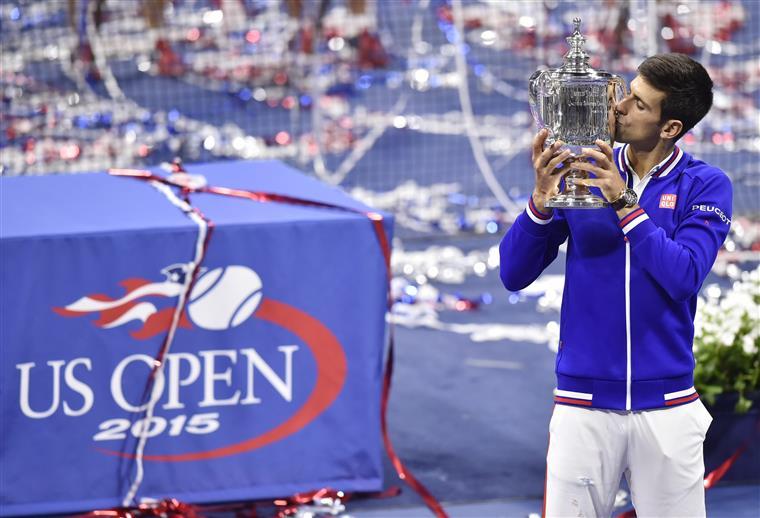 Djokovic tem uma ligação cada vez mais próxima com troféus