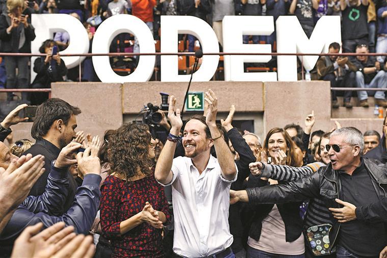 Pablo Iglesias, do Podemos, perdeu fulgor e sondagens já dão menos de 17%