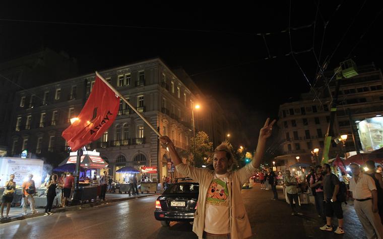 """Trigadis considerou o dia de hoje um """"dia memorável para celebrar por todos os gregos"""""""
