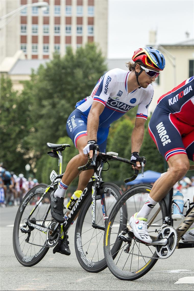 Peter Sagan ofereceu o título à Eslováquia