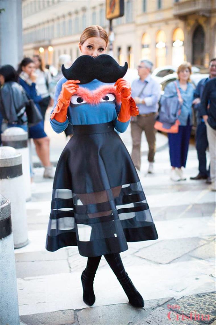 Cristina Ferreira esteve na Semana da Moda de Milão