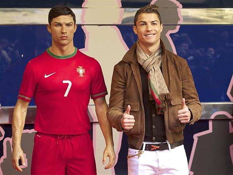É muito Ronaldo numa só casa