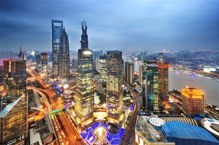 A China projecta crescer 7% este ano