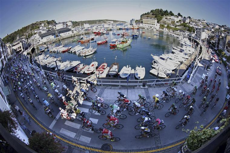 Kris Boeckmans foi a desistência mais grave entre muitas na Vuelta