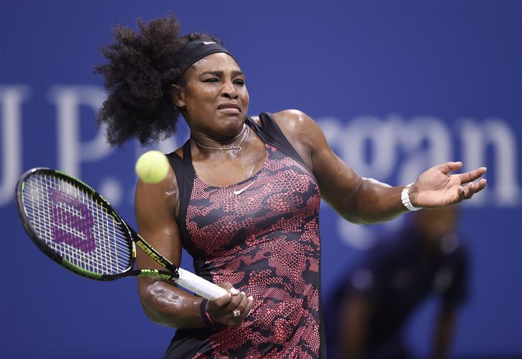 Serena Williams vai defrontar, na quinta-feira, a italiana Roberta Vinci