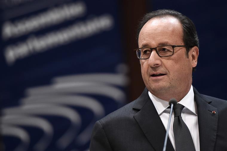 Presidente francês não se mostrou disponível para receber Putin
