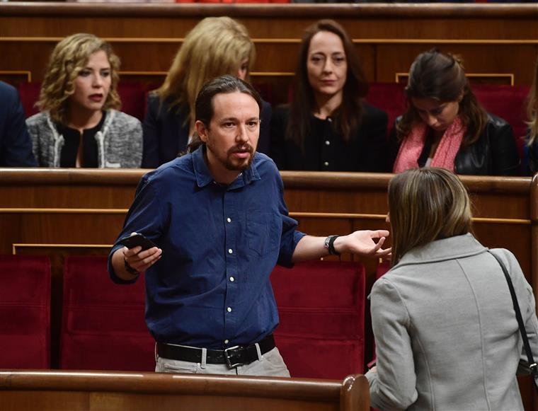 Pablo Iglesias é a cara mais conhecida do Podemos