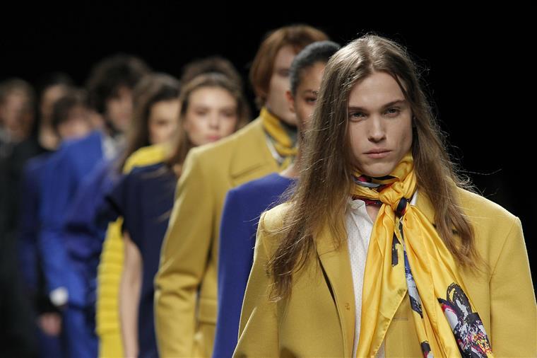 O amarelo e o azul de Miguel Vieira